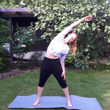 Mein Yoga - Seitbeuge